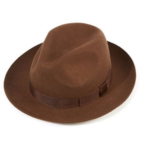 Christys Chepstow Trilby - Brown